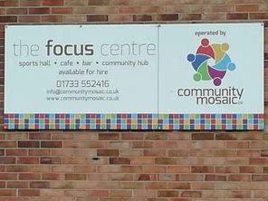 Focus Centre signage