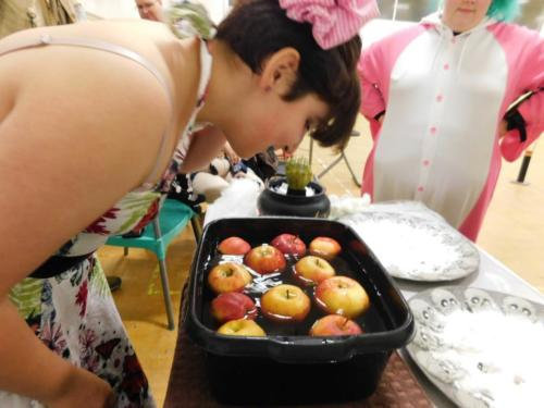 More apple bobbing